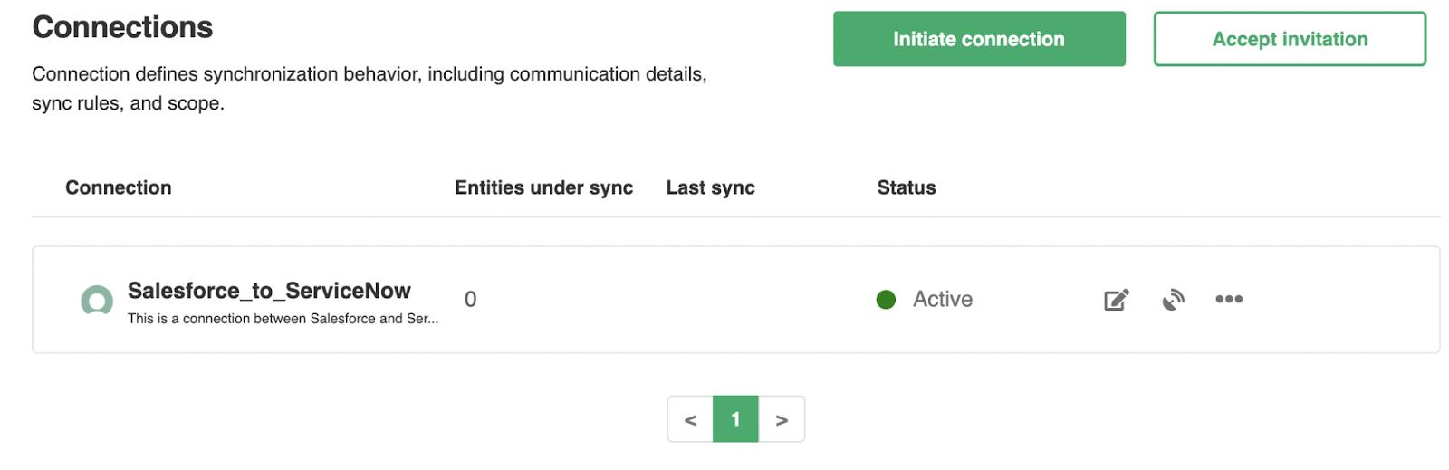 configure ServiceNow Salesforce connection