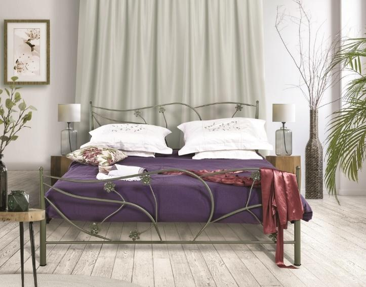 Μεταλλικά Κρεβάτια : Κρεβάτι Αλκυόνη για στρώμα πλάτους 160cm