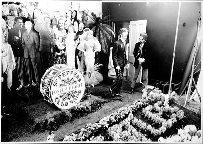 11 - The Beatles039 shoot for Sgt Pepper039s Lonely Hearts Club Band
