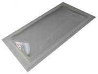 """Sun-Tek® SFMH 22"""" x 46"""" Clear Polycarbonate Surface Mount Skylight"""