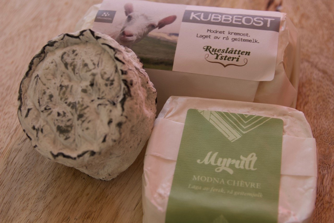 norwegian chèvre style cheeses