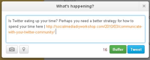 Twitter url shortener