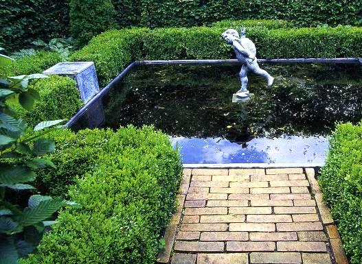 Водный сад и пруд в саду