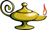 picture of a genie bottle