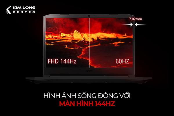 màn hình 144hz cho trải nghiệm game đỉnh hơn