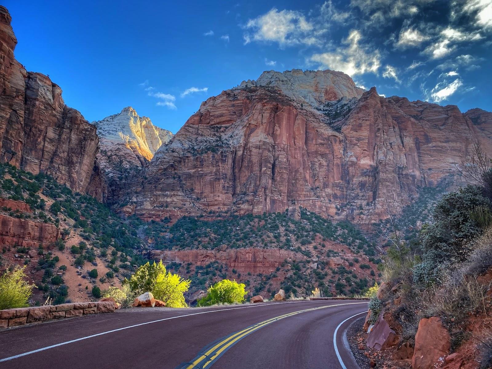 Zion Carmel Highway