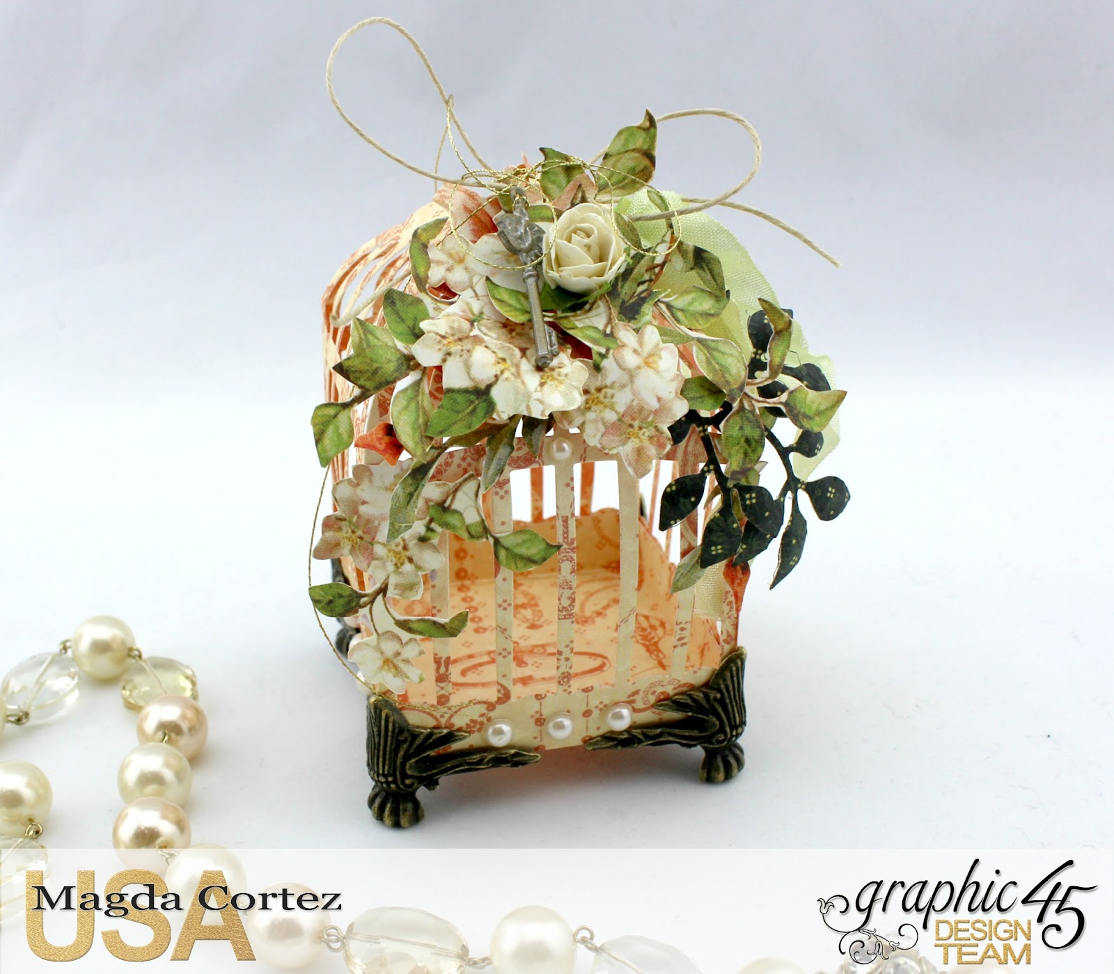 3D Birdcages Simply 45-Wedding Favor- Secret Garden By Magda Cortez, Product By G45, Photo 02 of 06, Project with Tutorial.jpg