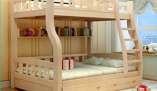 Giường tầng gỗ người lớn 5