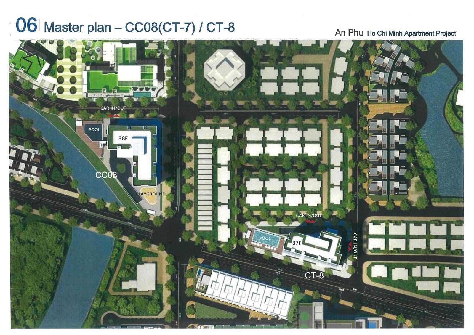 Mặt bằng cụm CT7-8 dự án Laimian City