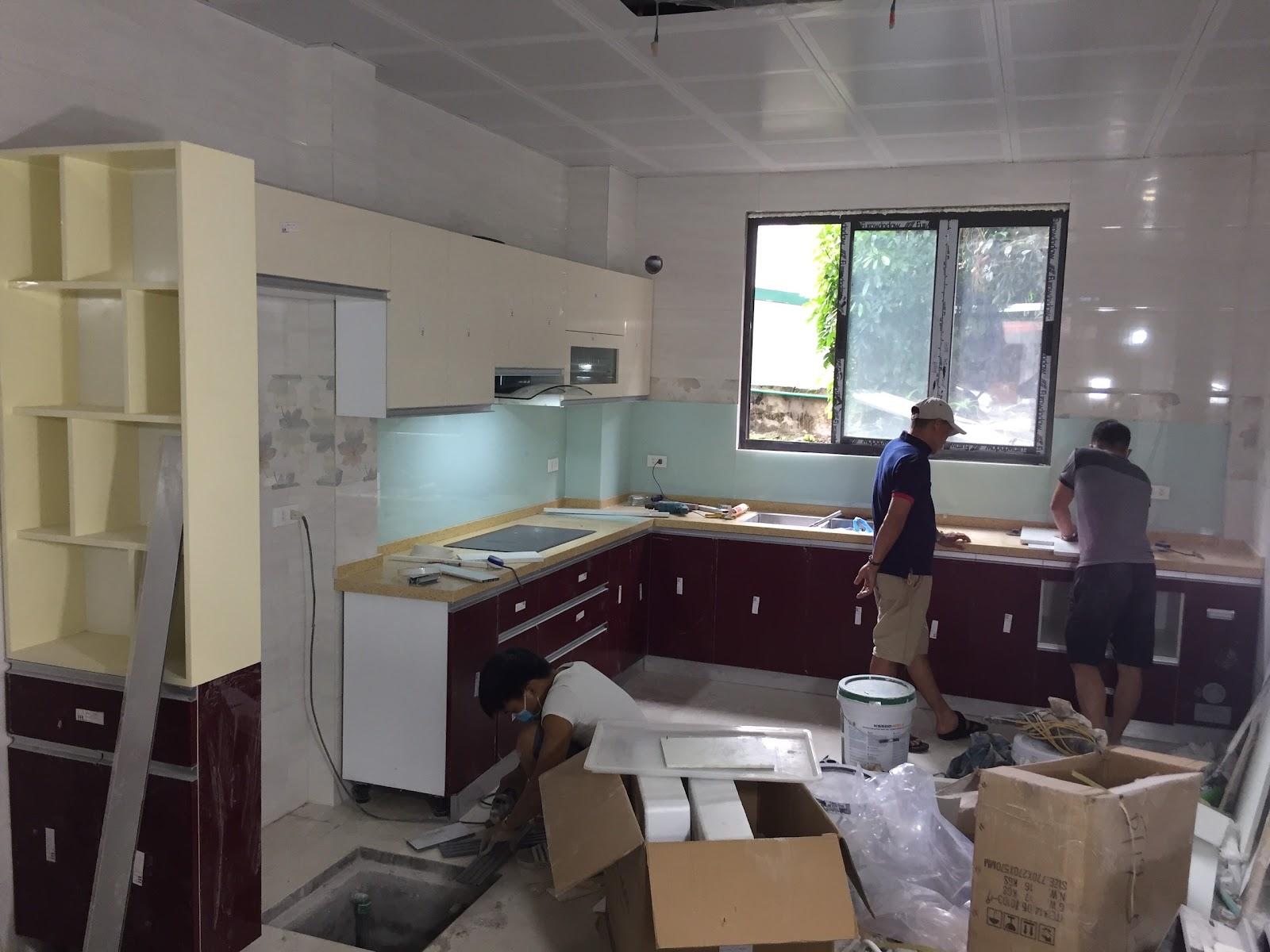 kinh nghiệm làm tủ bếp Hải Phòng