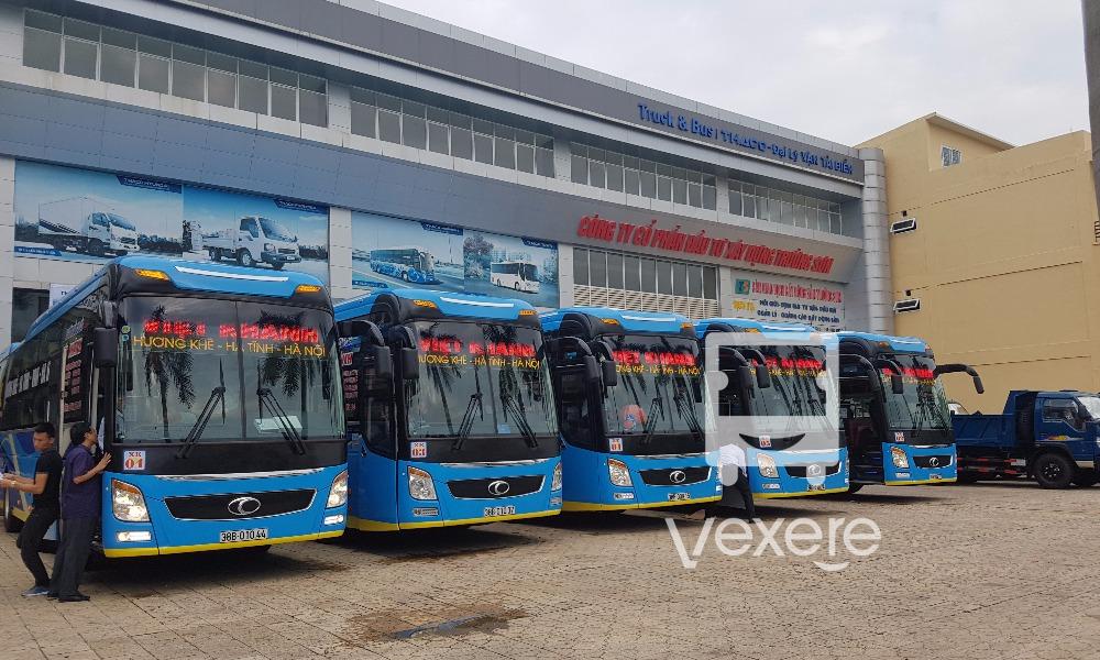 Xe Việt Khánh từ Hương Khê - Cửa Lò - Vinh