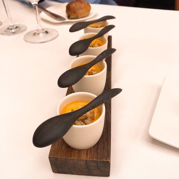THOMAS.簡 法式餐廳 餐點:龍蝦南瓜幕斯