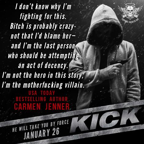 Kick Savage Saints MC Carmen Jenner Author Im the Villan.jpg
