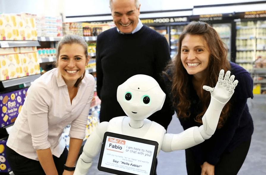 robot Fabio