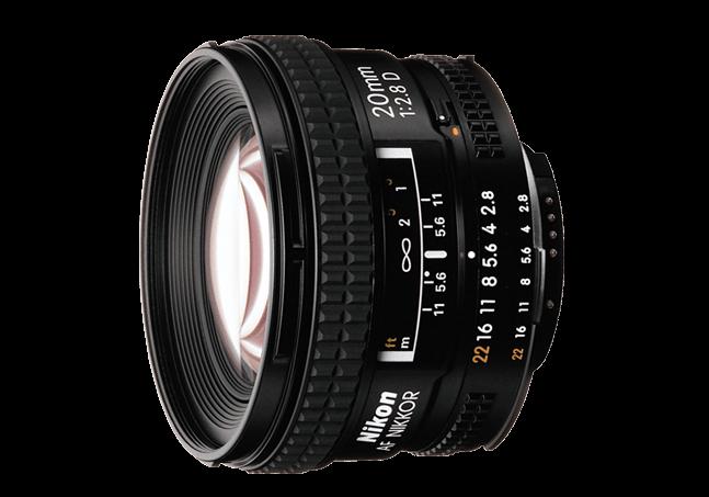 Nikon 20mm f / 2.8 AF