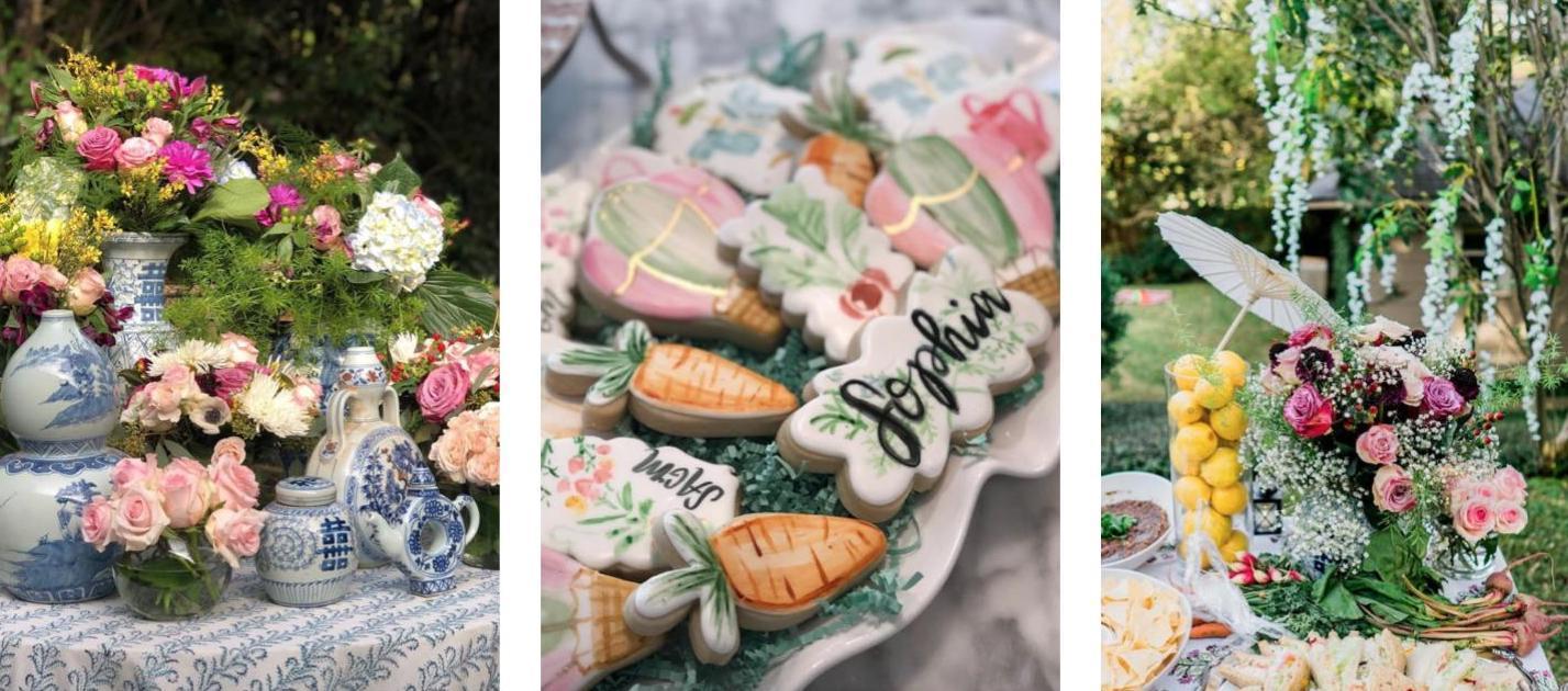 Nicola Bathie garden party theme inspiration for children's birthdays