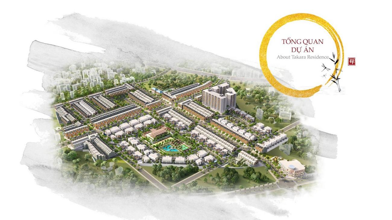 Giới thiệu về dự án Takara Residence của Bình Dương