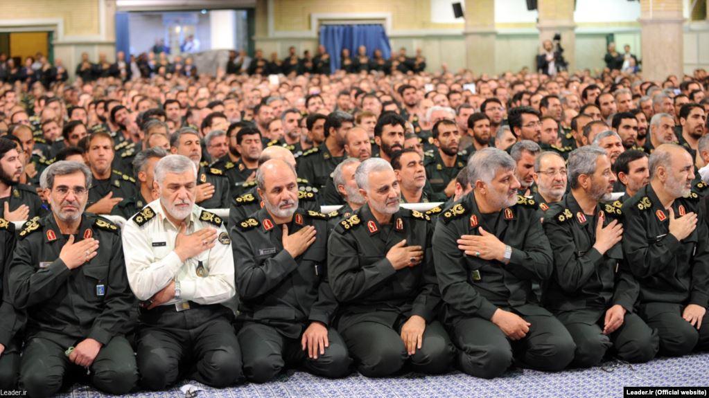دیدار فرماندهان سپاه با آیتالله خامنهای در شهریور ۹۴