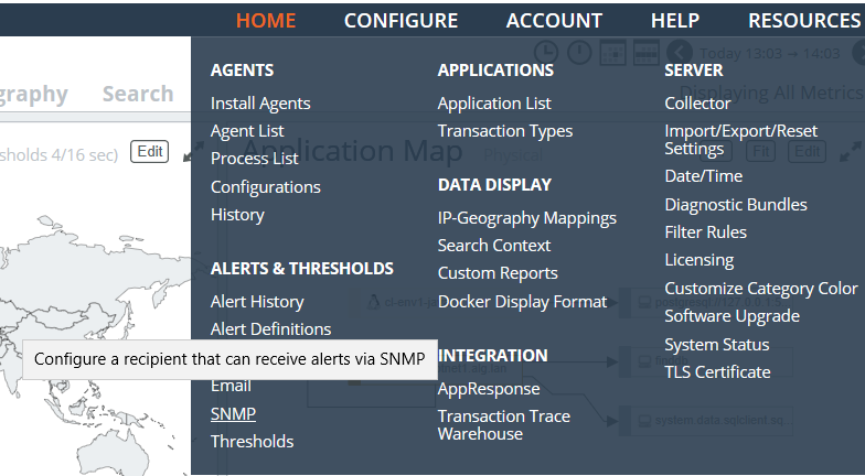 IT Squared  AppInternals SNMP traps ingestion into Splunk