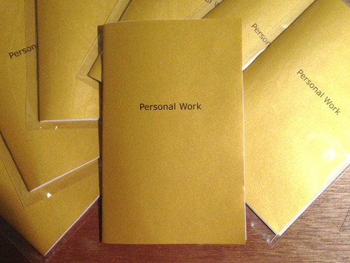 Personal Work 8 Ball Zines, New York2015Edition of 30 (out of print)