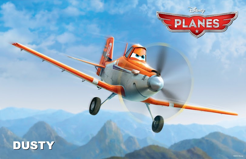 My Planes Review: Dusty from Disney's Planes #DisneyPlanesBloggers
