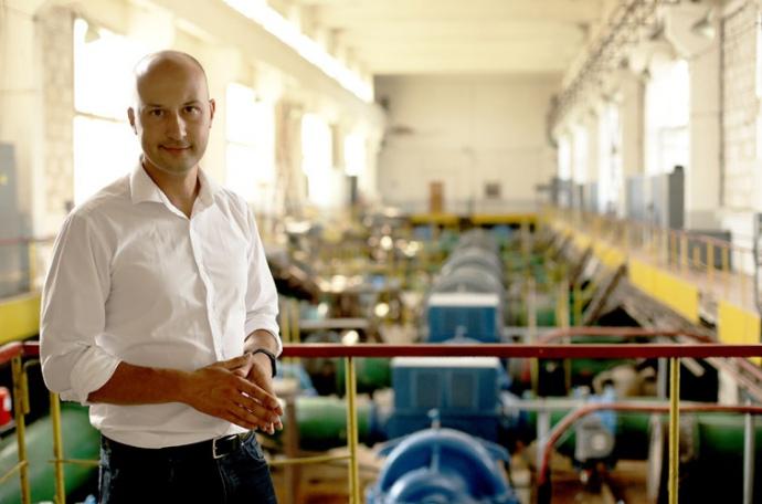 директор Житомирського водоканалу Андрій Нікітін