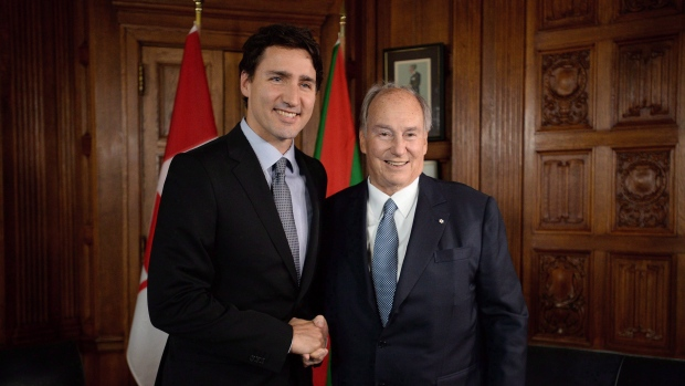 Prime Minister Justin Trudeau and his family vacationed on the Aga Khan's private island in the Bahamas.