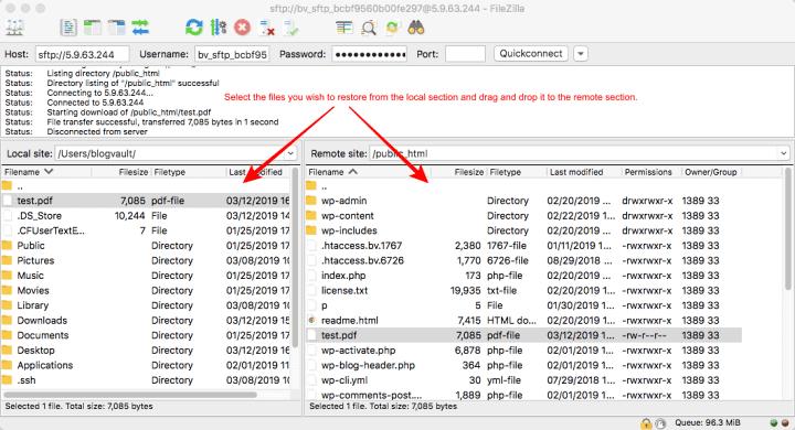 recuperar sites deletados ftp