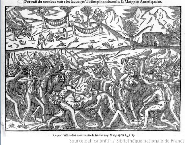 Resultado de imagem para guerra entre os tupinambás