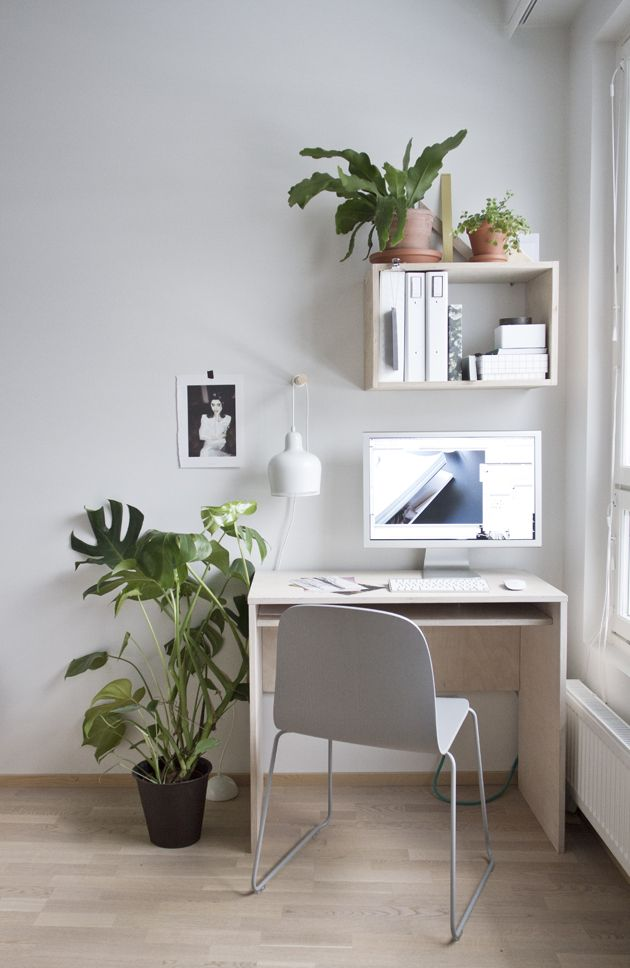 Inspirasi dekorasi area atau ruang kerja - source: pinterest.com