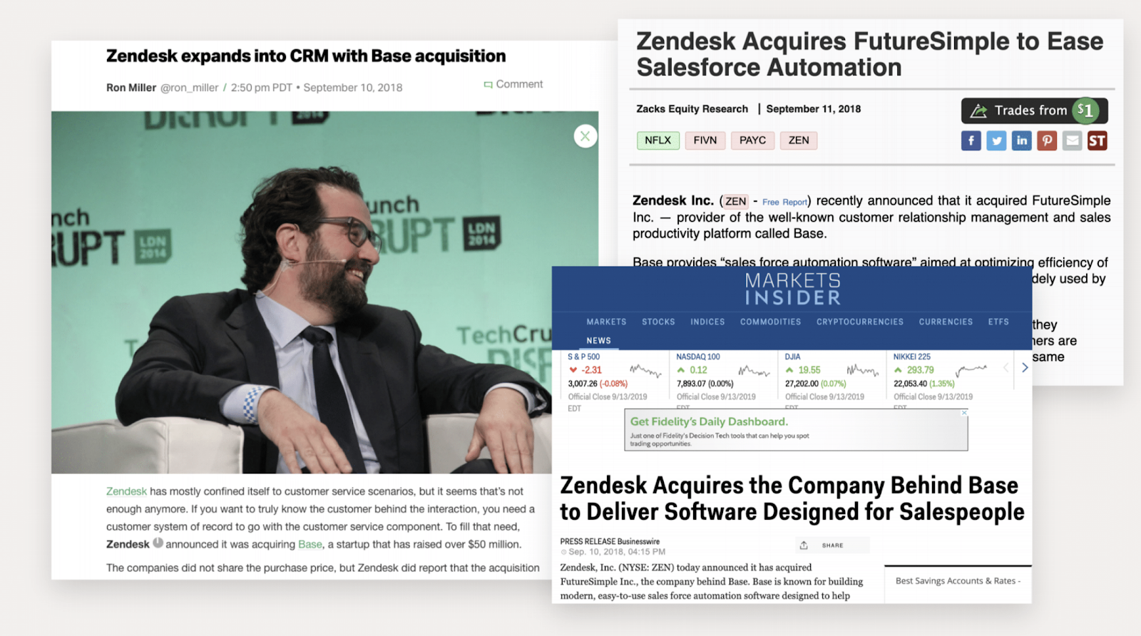 Zendesk acquires the company behind Base - news story