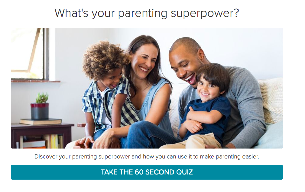 What's your parenting superpower quiz cover