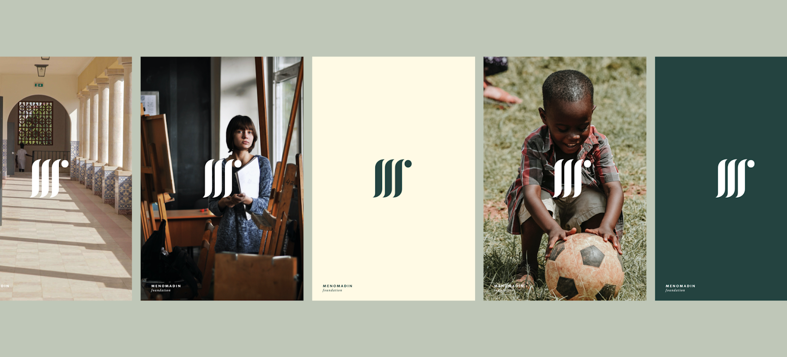 Branding and Visual Identity for the Menomadin Foundation 1