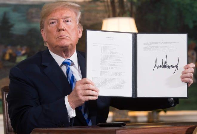 President Donald Trump on Nov. 2, 2018, in Washington, D.C.