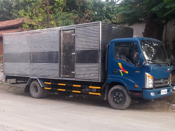 Bán xe tải veam 1.9 tấn, thùng dài 6m2, động cơ hyundai, cabin isuzu