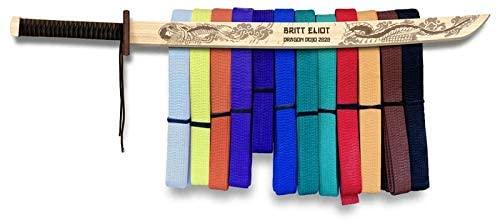 Campfire Arts Dragon Sword Karate Belt Hanger