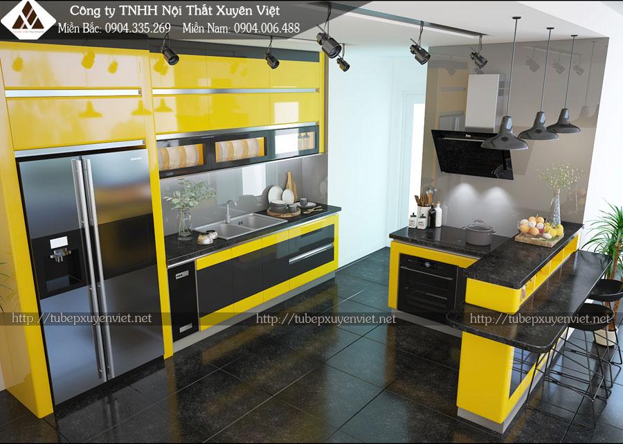 Tủ bếp hiện đại là tủ bếp như thế nào hình 3