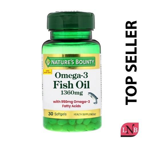 NATURE'S BOUNTY Omega-3 Fish Oil - Omega-3 fatty acids - Shop Journey
