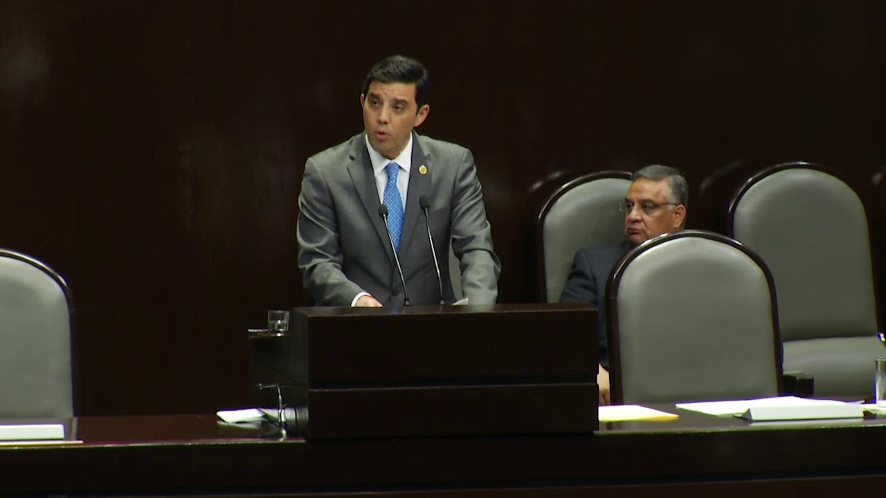 Sergio Fernando Ascencio Barba. Fotografía de Diputados PAN LXIV Legislatura