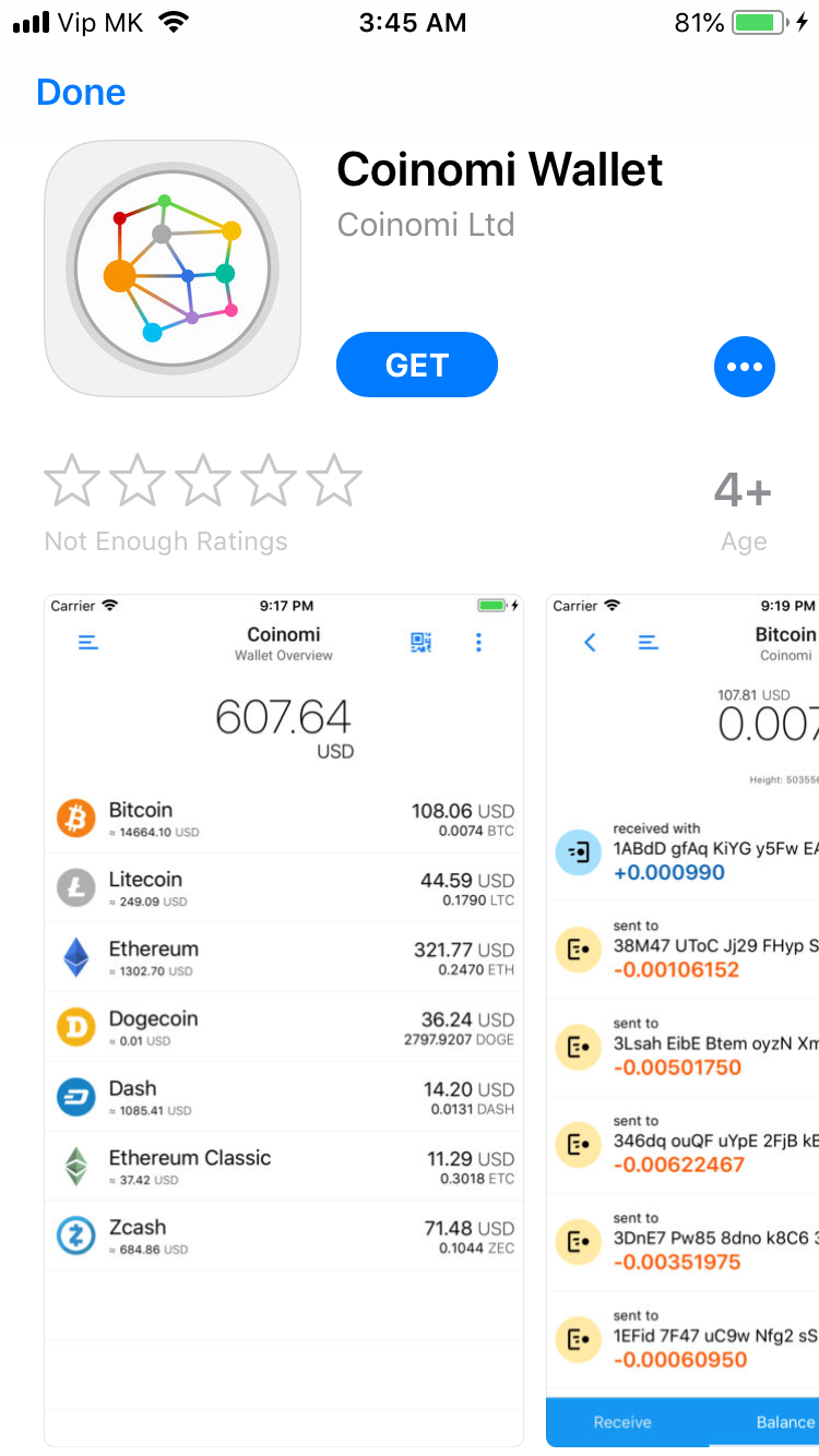 nmc cryptocurrency wallet