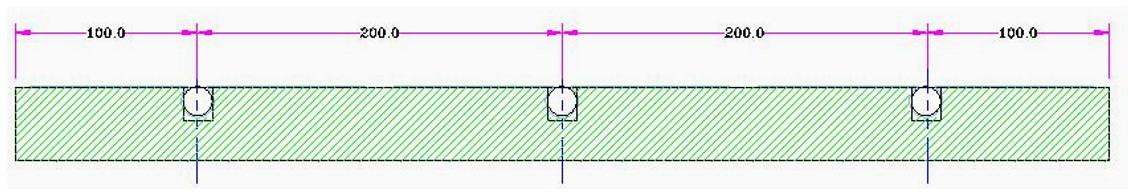 Figure 2-4 : Plaque isolante tradi (vue en coupe)