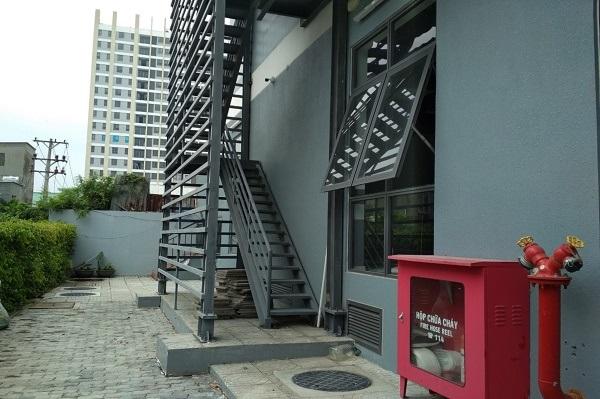 Vai trò của cầu thang thoát hiểm