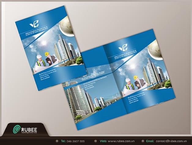 Thiết kế Brochue VPCI 1 đẹp