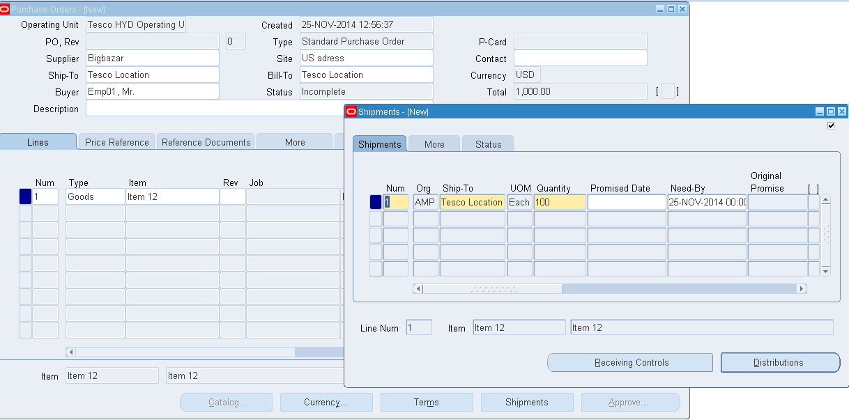 Oracle Masterminds Express Receipts In Oracle Purchasing
