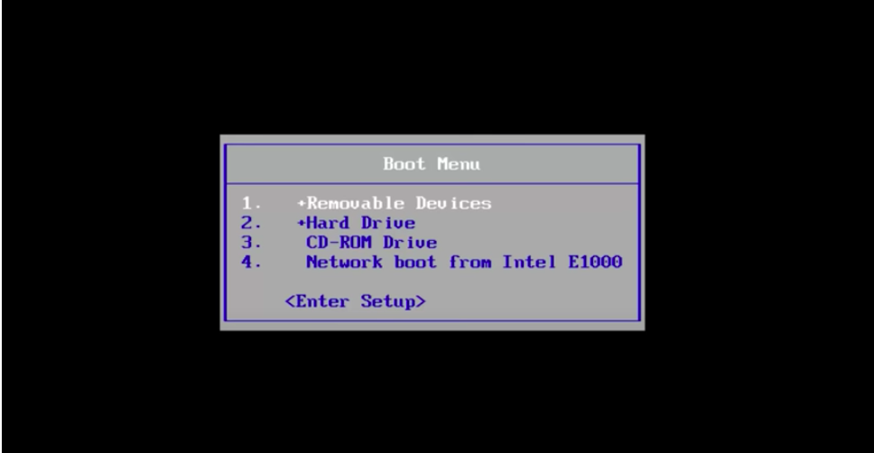 select Bootable Pendrive