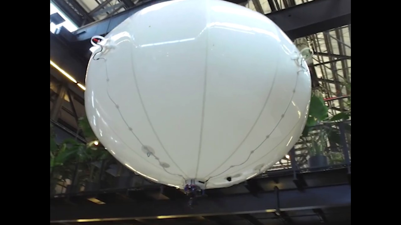 Amazons delivery drone blimp