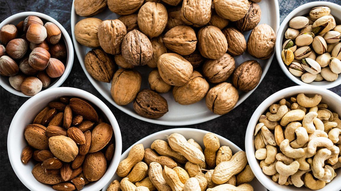 Nuts are also rich in omega-3 fatty acids.