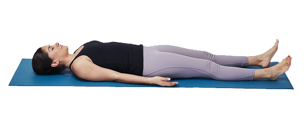 The Yoga Sleep Pose