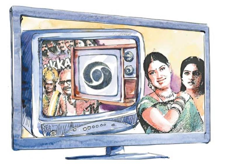 Cable TV Changed India's entertainment style