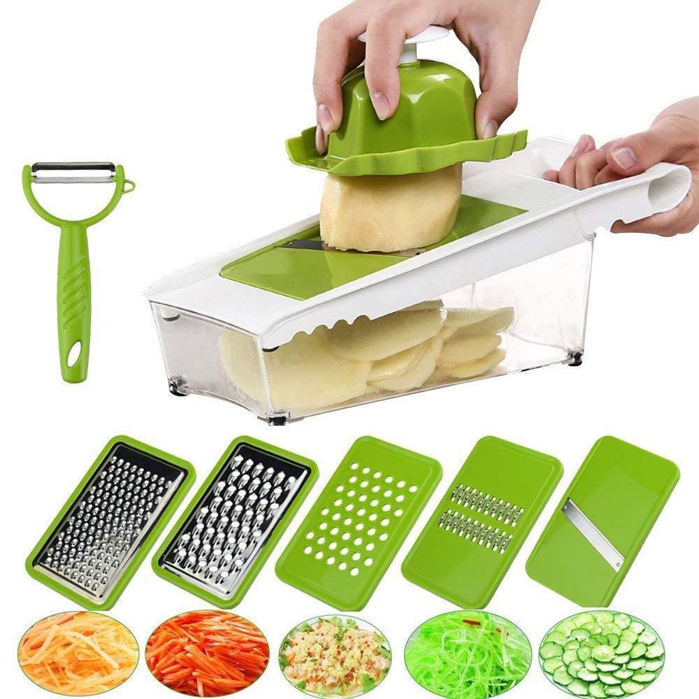 Mandoline Slicer Vegetable Potato Slicer Grater Cutter Chopper
